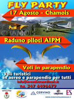 FLY PARTY A CHAMOIS ESTATE 2014
